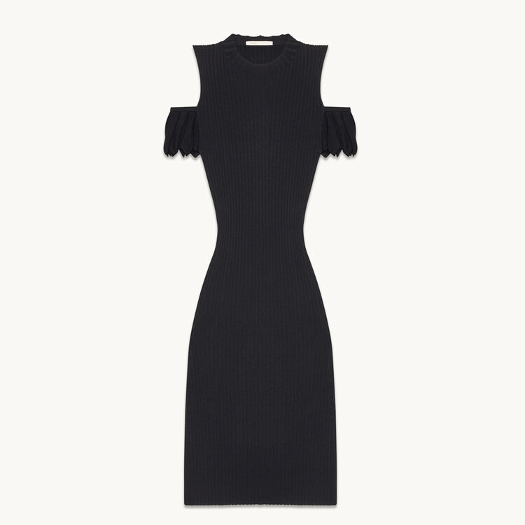 Stretch knit dress - Dresses - MAJE