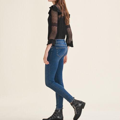 Faded slim jeans - Jeans - MAJE