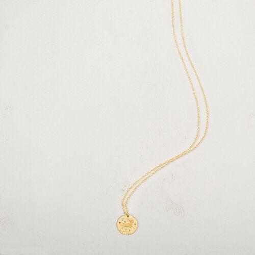 Aries zodiac sign necklace - Jewelry - MAJE