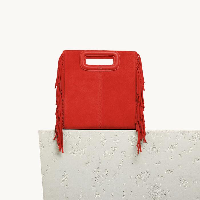 Suede M bag - Bags - MAJE