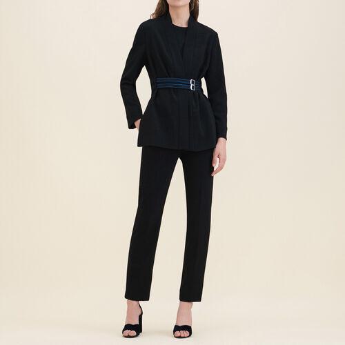 Crêpe kimono jacket - Blazers - MAJE