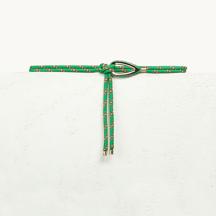 Rope belt with jewellery detailing - Belts - MAJE