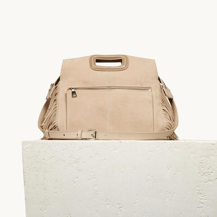 Suede M Walk bag - Bags - MAJE