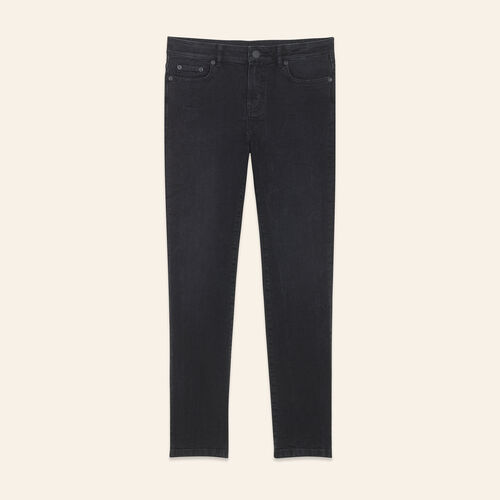 Straight-cut cropped jeans - Jeans - MAJE
