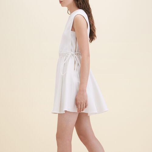 Crêpe sleeveless dress - Dresses - MAJE