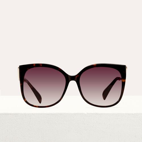 Retro sunglasses : Eyewear color ECAILLE