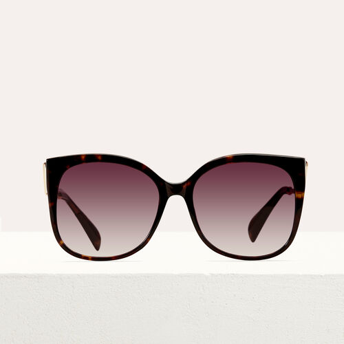 Retro sunglasses : Eyewear color ECAILLE