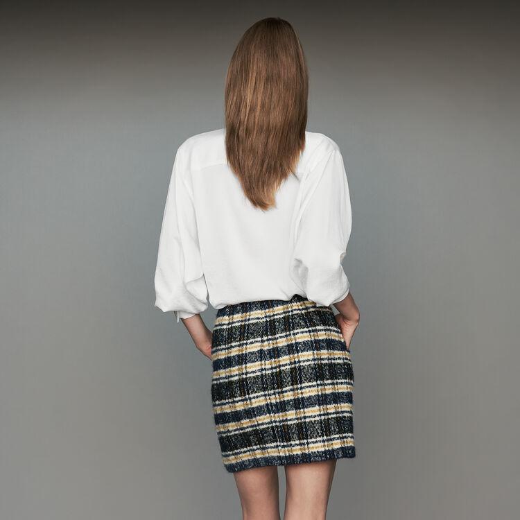 9e98604c9b JOLICA Short plaid skirt - Skirts & Shorts - Maje.com