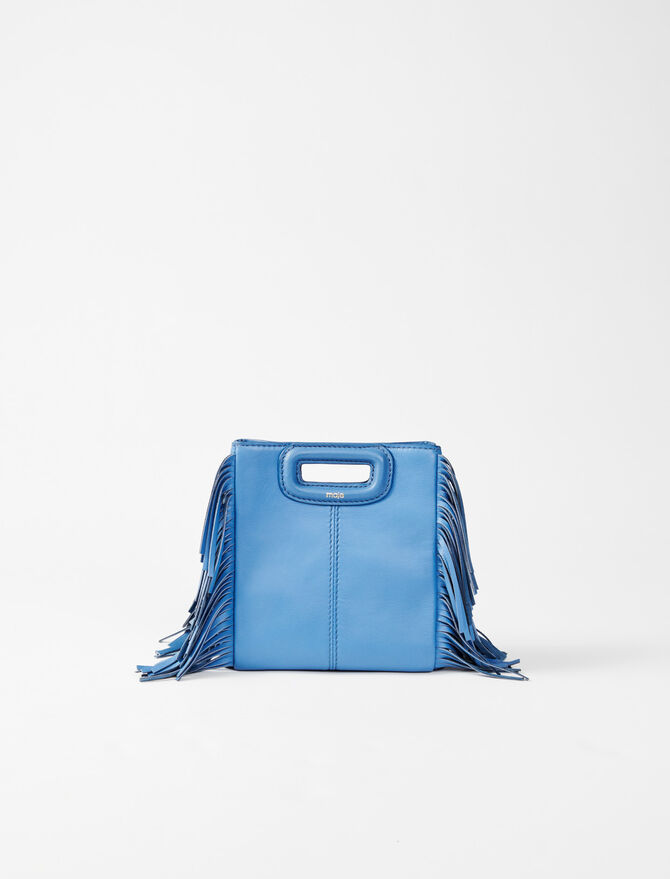 Leather mini M bag - Summer collection - MAJE