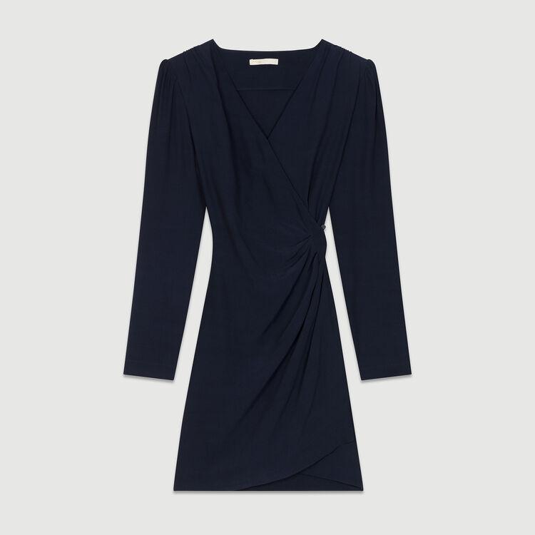 Wrapover dress : Dresses color Night