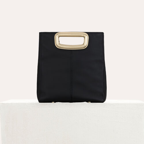 M Skin bag in leather : M Skin color Black 210