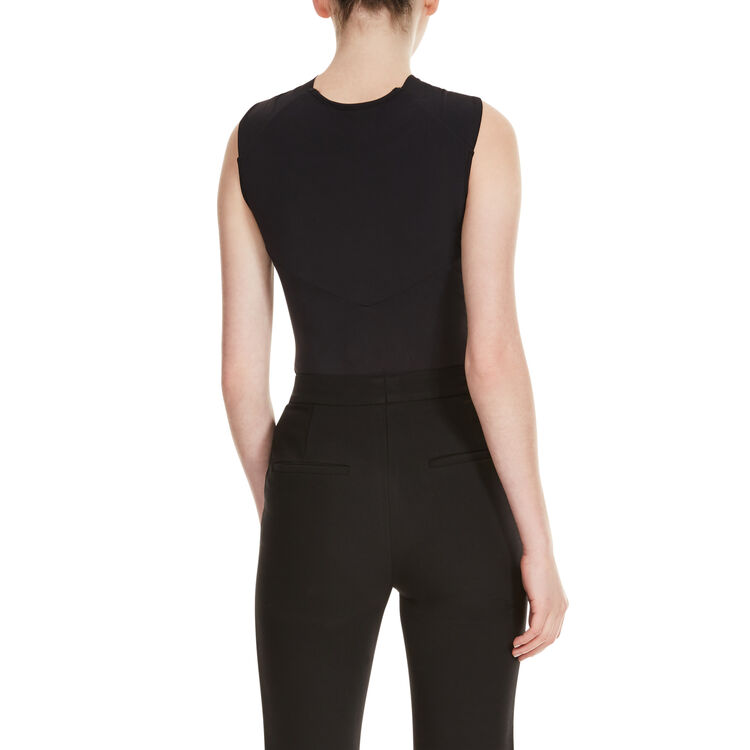 Body with crossover neckline - Tops - MAJE