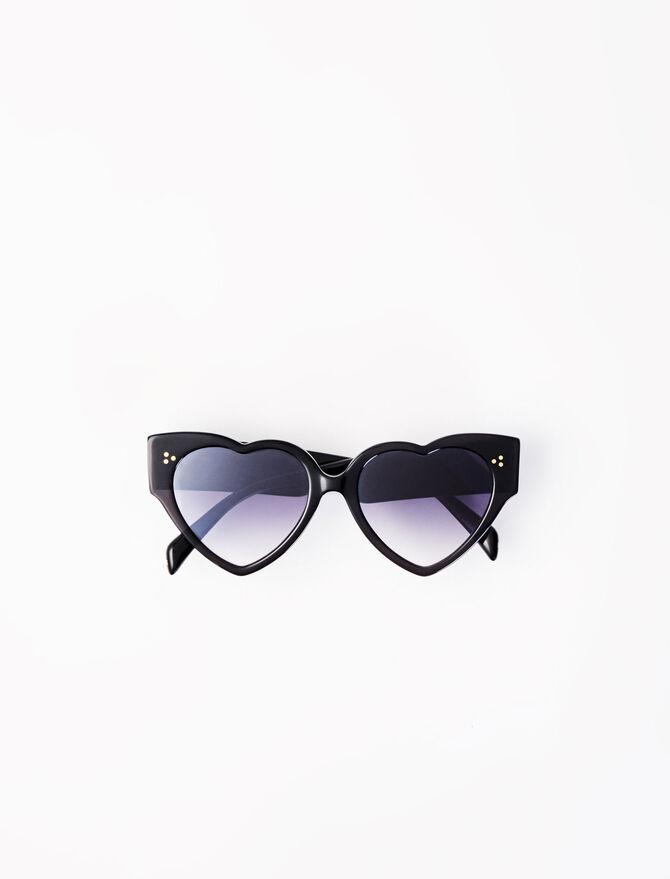 Acetate heart-shaped sunglasses - Eyewear - MAJE