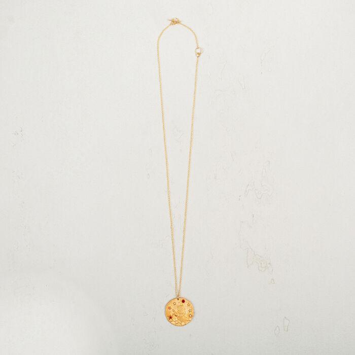 Leo zodiac sign necklace - Jewelry - MAJE