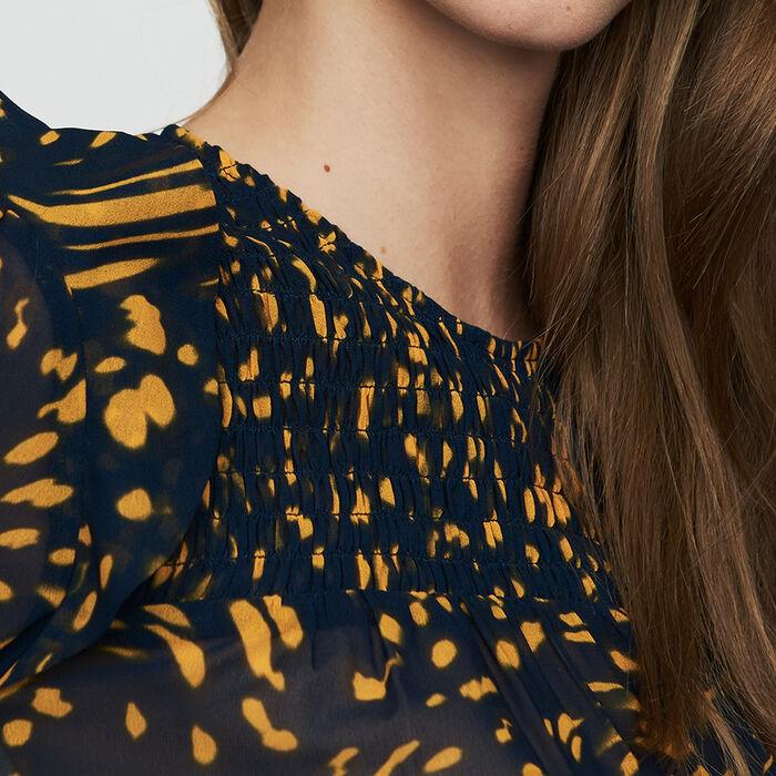 Ruffled printed blouse : Tops color PRINTED
