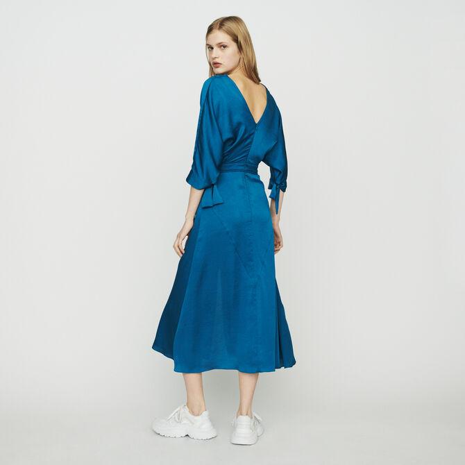 Long neckline dress - See all - MAJE