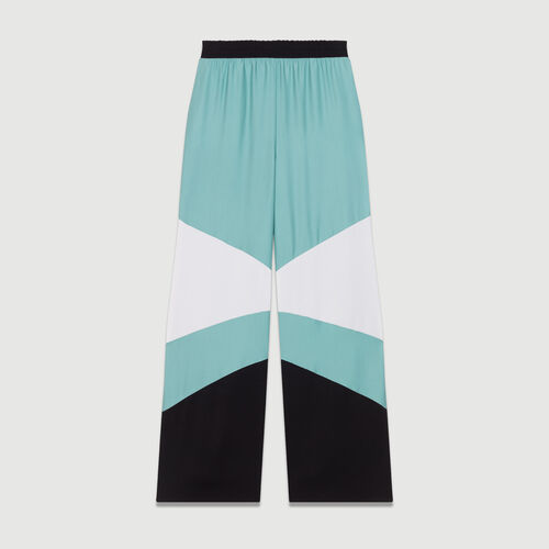Wide multicolored pants : New Collection color Multico