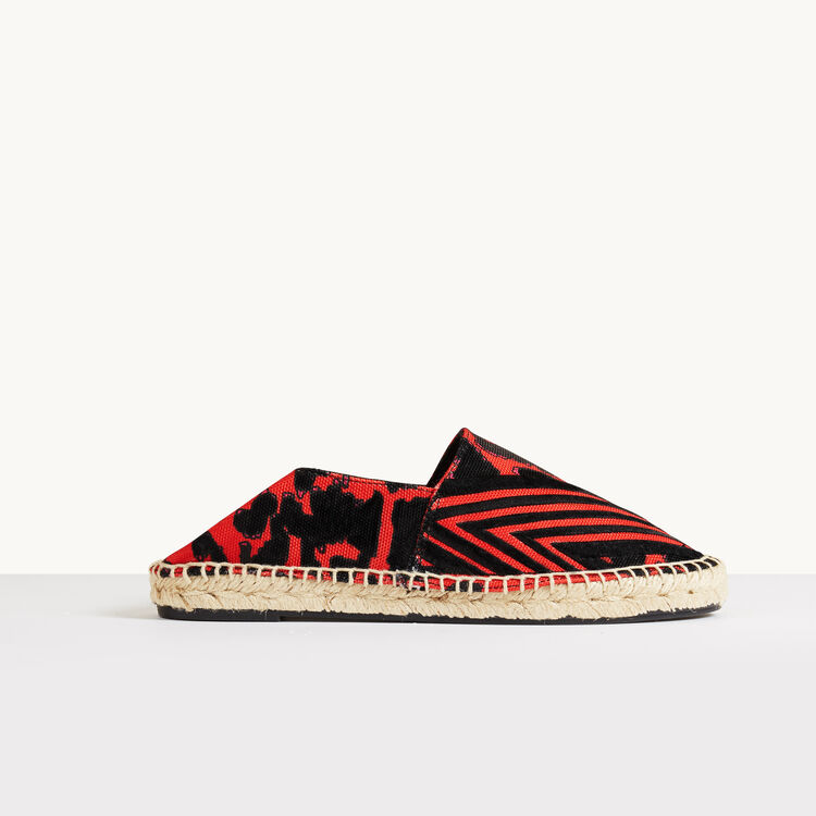 Printed espadrilles - Accessories - MAJE
