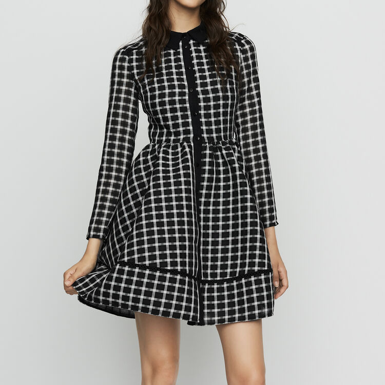 Plaid shirt dress : New Collection color CARREAUX