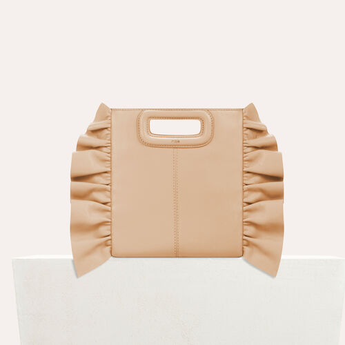 Frilled M bag - New in - MAJE