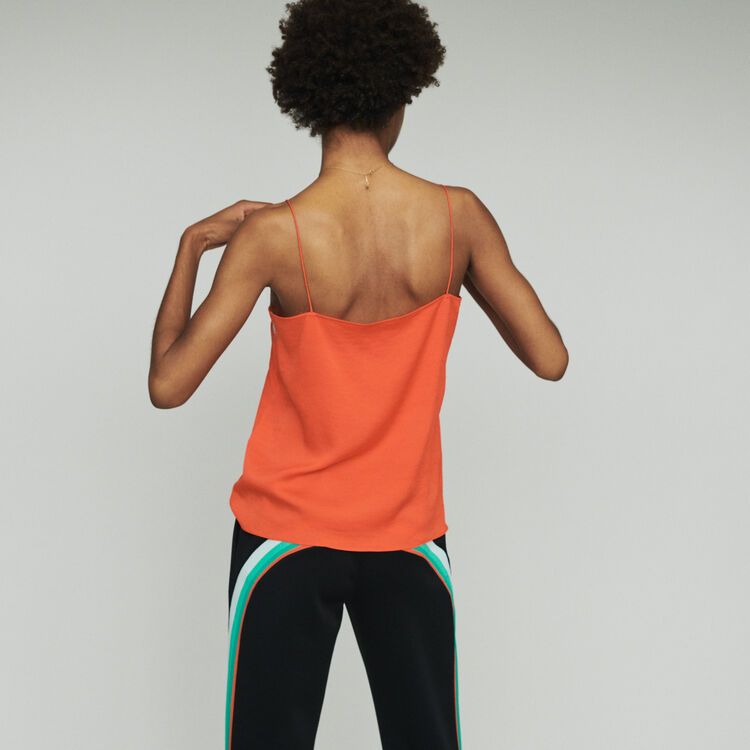 Lace camisole : Tops color Orange