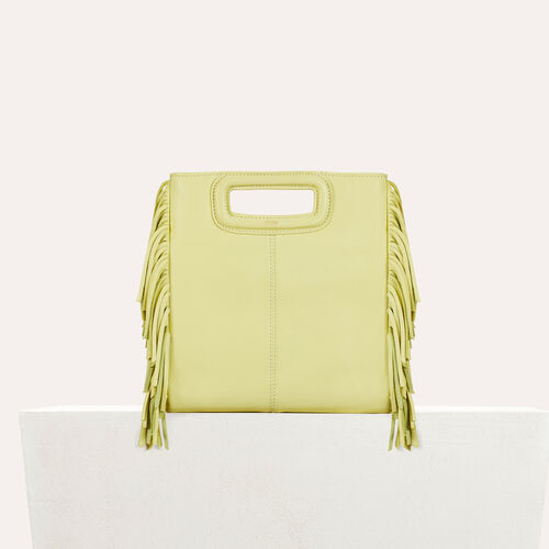 Lambskin M bag : Bags color Yellow