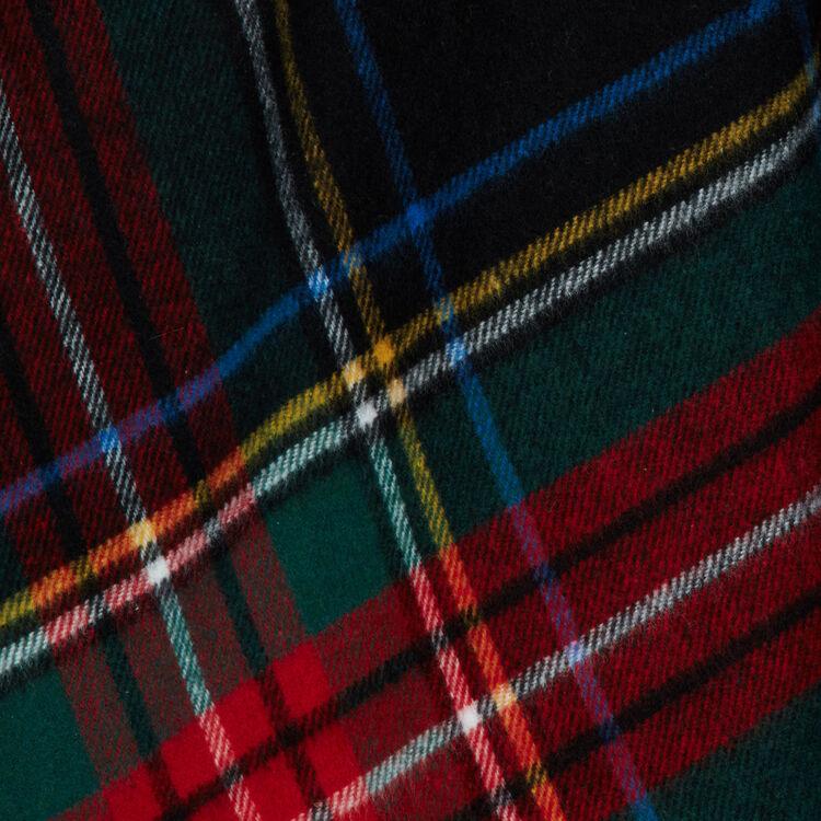 Tartan cashmere poncho : Shawls & Ponchos color Multico