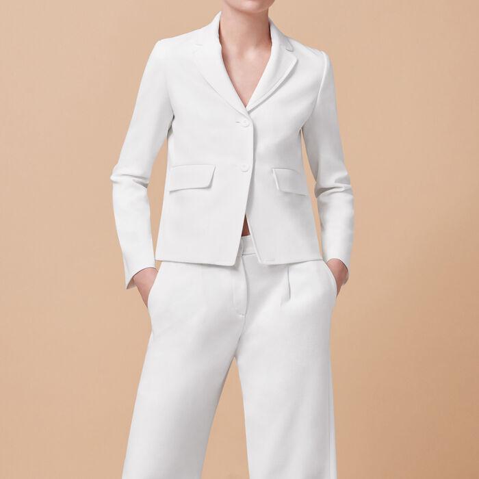 Tailored jacket - Last Sizes - MAJE