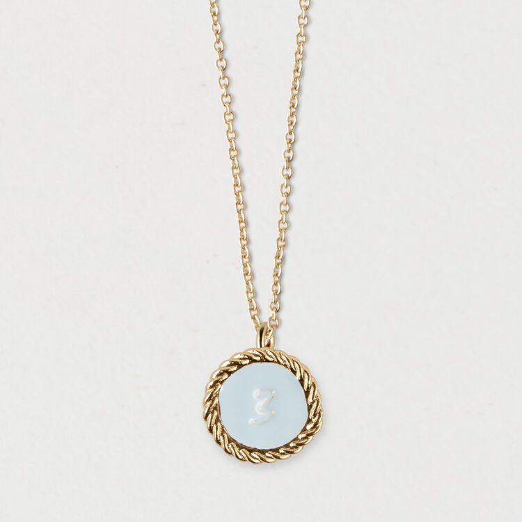 Number 3 medallion : Jewelry color GOLD