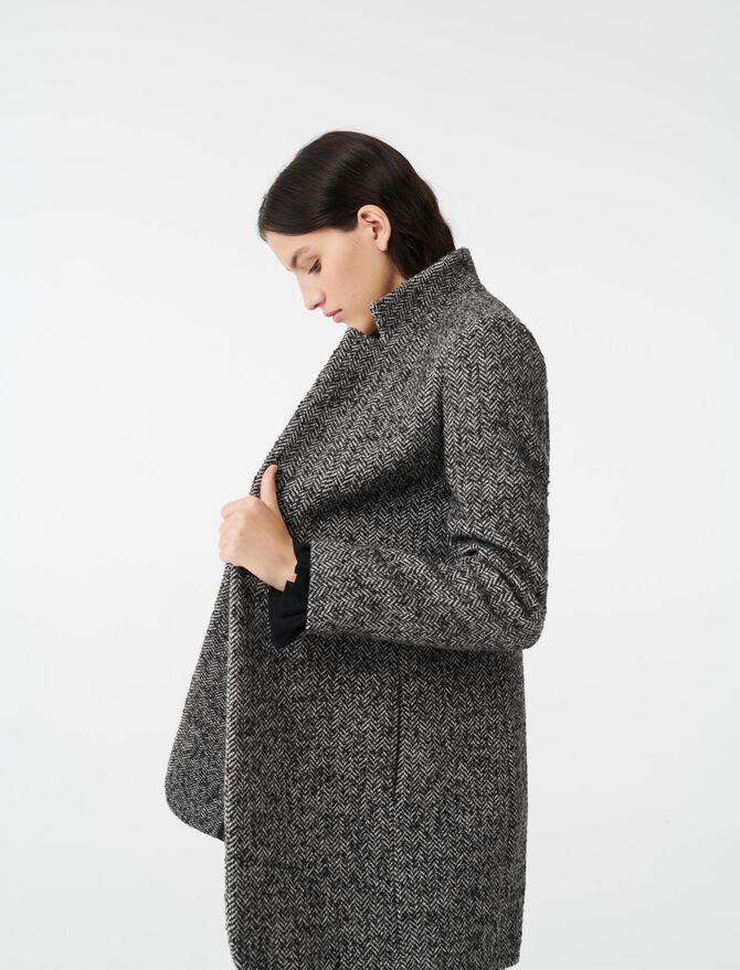 Herringbone coat - -40% - MAJE