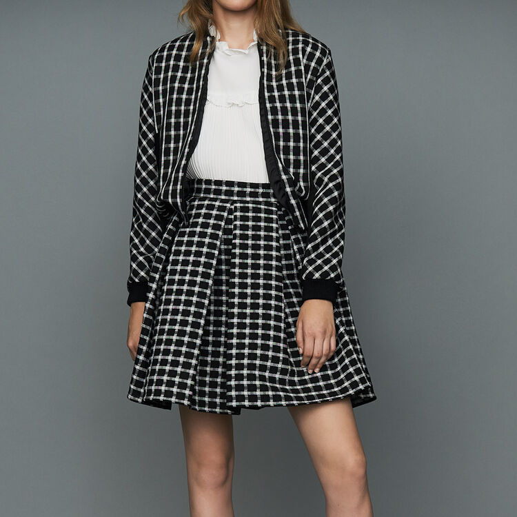 Plaid teddy : Ready to wear color CARREAUX