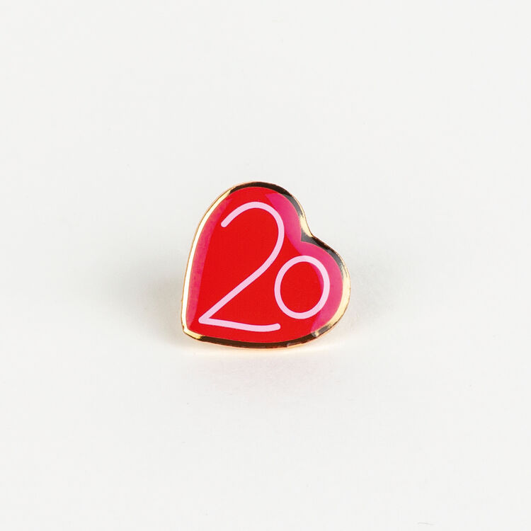 Pin Badges X 20 years : Urban color Multico