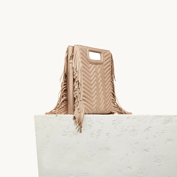 Quilted leather M bag - Accessories - MAJE