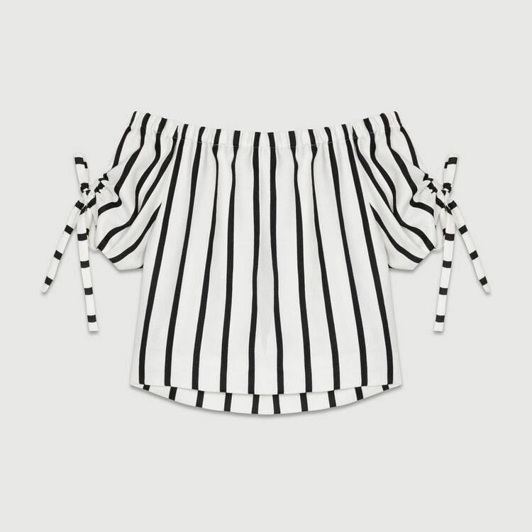 Striped crop top : Tops color Stripe