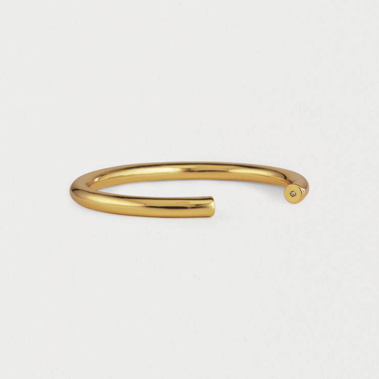 "Monday ""Semainier"" Bangle : Jewelry color GOLD"