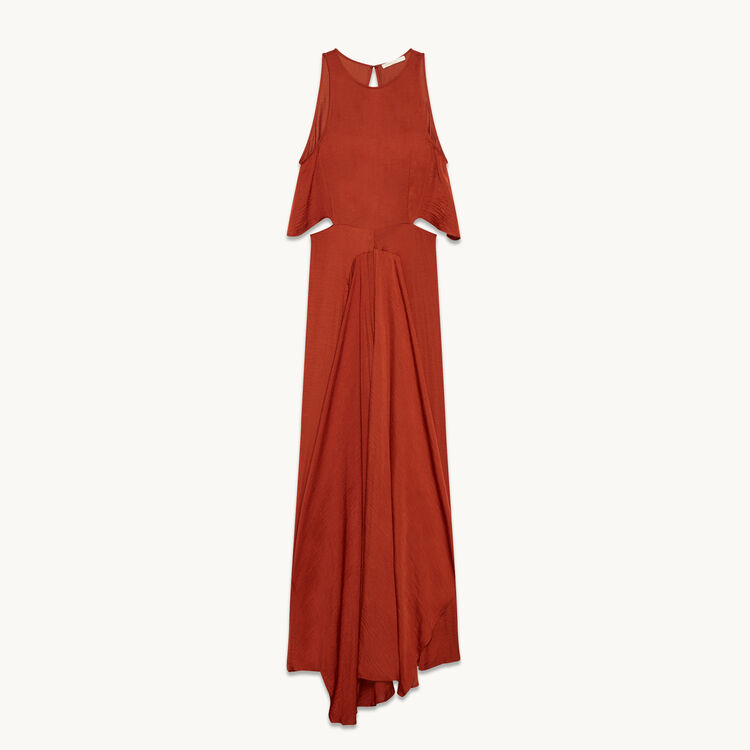 Long sleeveless dress - Modern Safari - MAJE