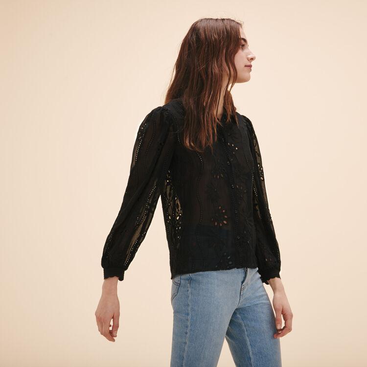 Lace shirt - Tops - MAJE