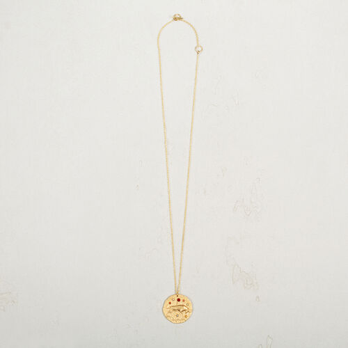 Taurus zodiac sign necklace - Jewelry - MAJE