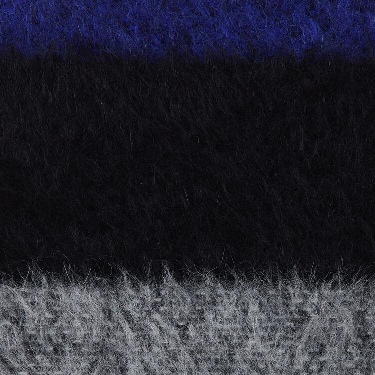 Echarpe en laine color block : Shawls & Ponchos color Purple