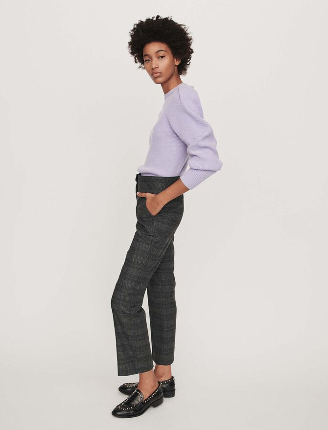 Prince of Wales pants - Trousers - MAJE