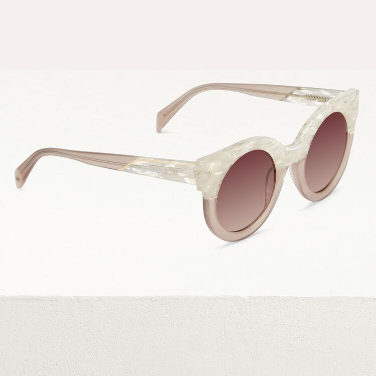 Cat's eye sunglasses : Eyewear color Pink