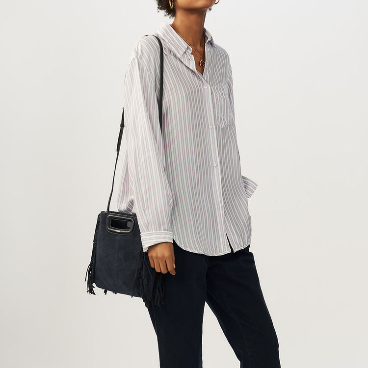 Oversize striped shirt : Shirts color Stripe