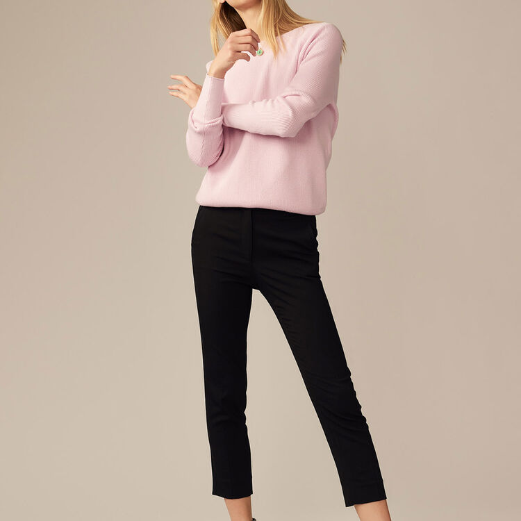 Straight pants in viscose - 60% off - MAJE