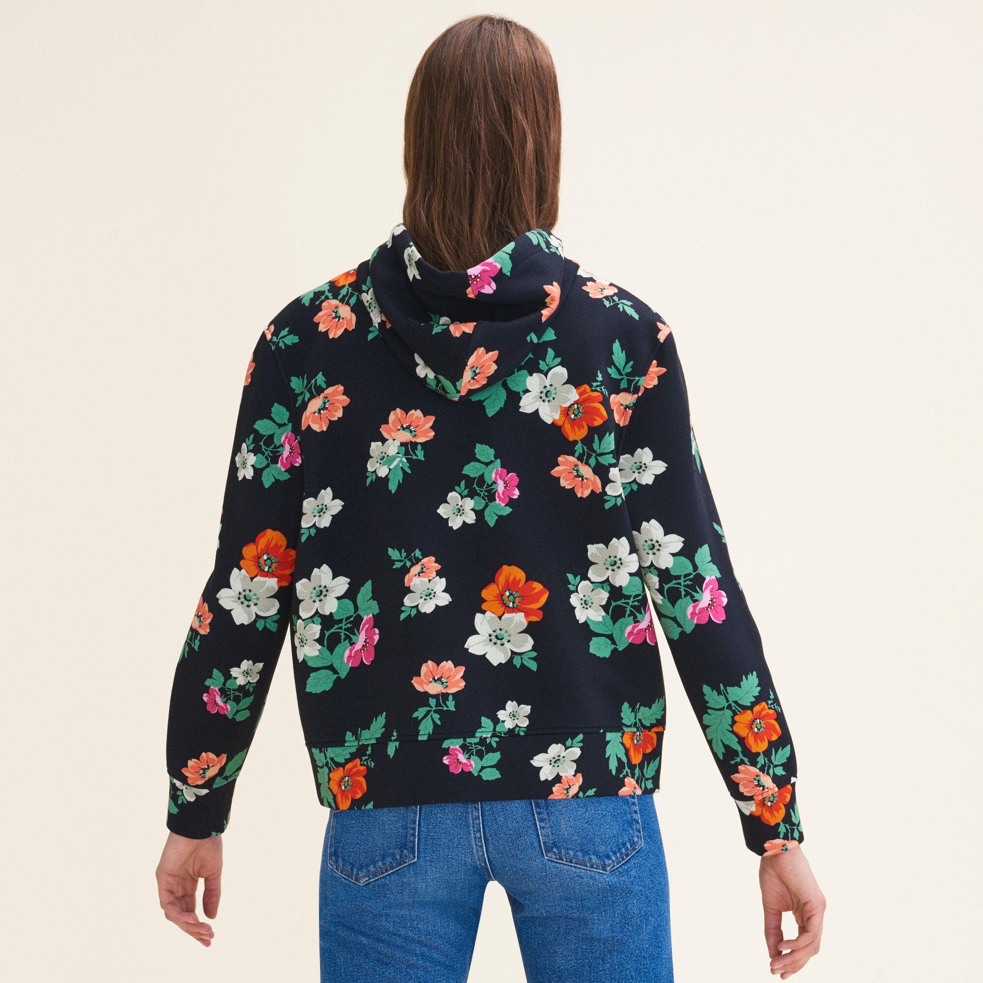 Printed hooded sweatshirt : Knitwear color PRINTED