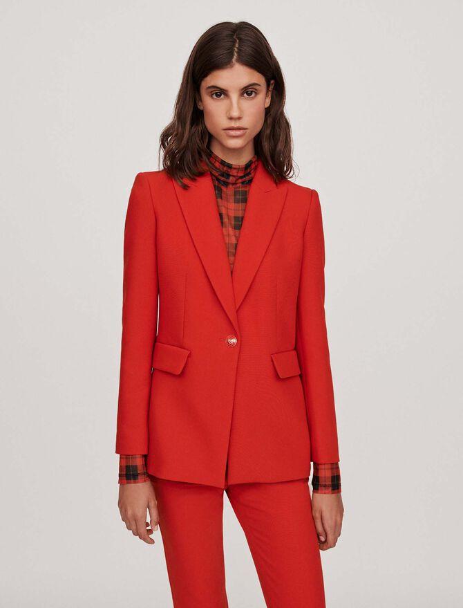 Cinched waist jacket - Blazers - MAJE