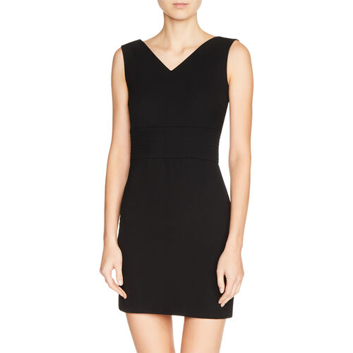 Crêpe sleeveless dress - Dresses - MAJE