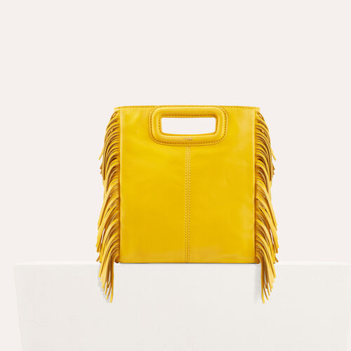 Lambskin M bag : M bags color Brick