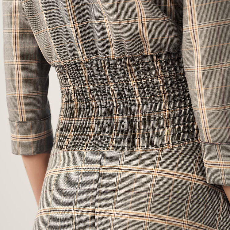 Checked dress : Dresses color CARREAUX