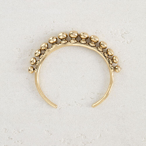"""Cuff """"Arty"""" : Jewelry color GOLD"""