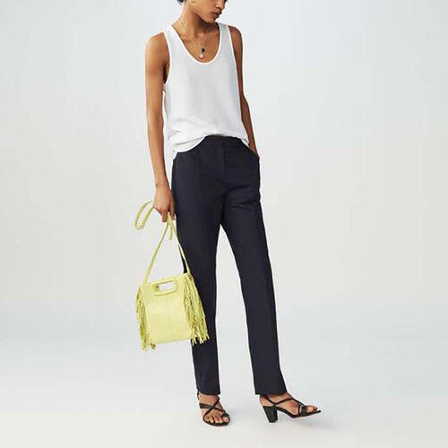 Suit pants with tennis stripes : Trousers color Stripe